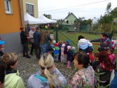 Otevření zahrady u MŠ