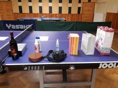 Vánoční turnaj ve stolním tenise